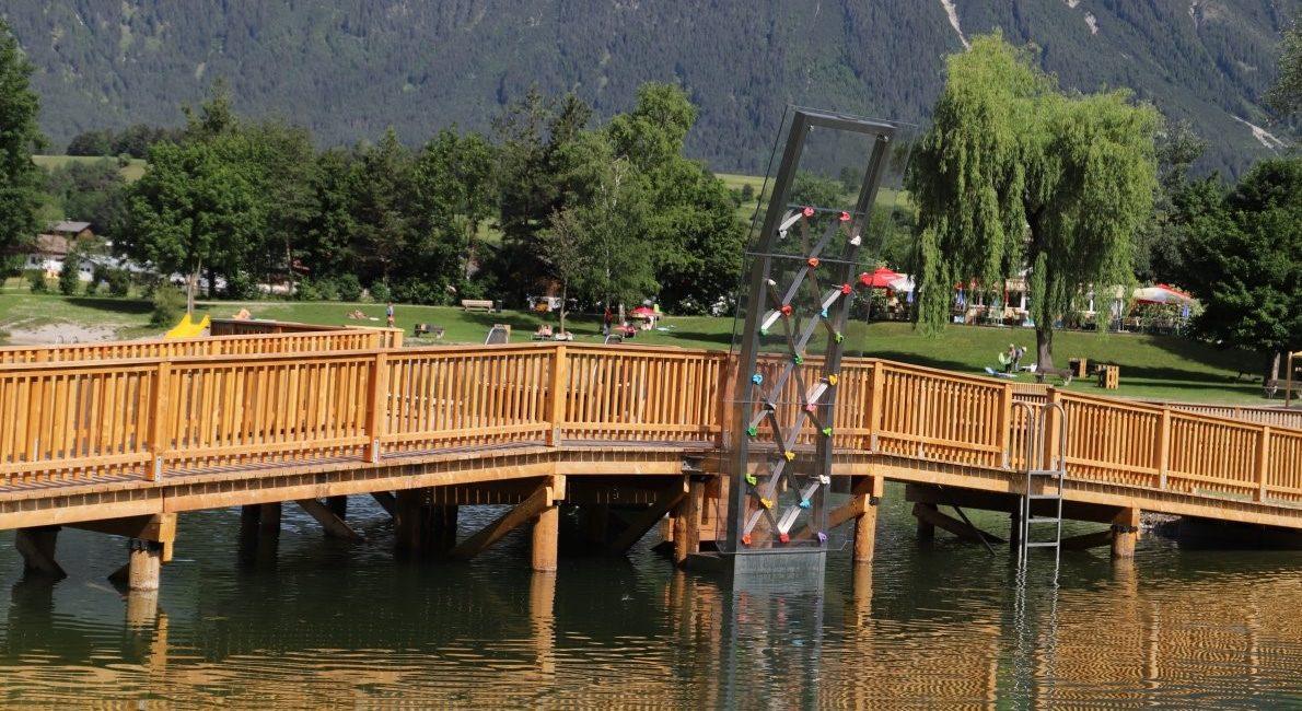 Badesee Mieming - Freizeitspaß für Jung und Alt, Foto: Knut Kuckel
