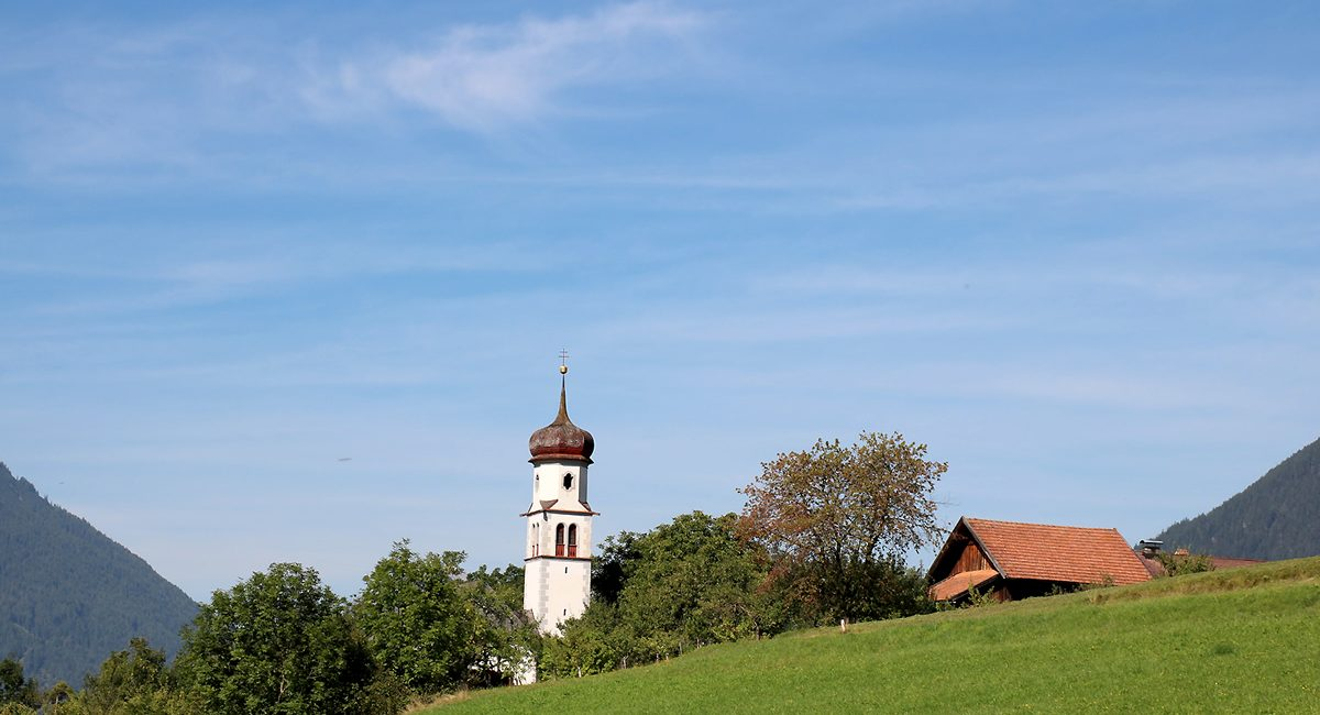 Georgskirche Obermieming im August. Foto: Knut Kuckel