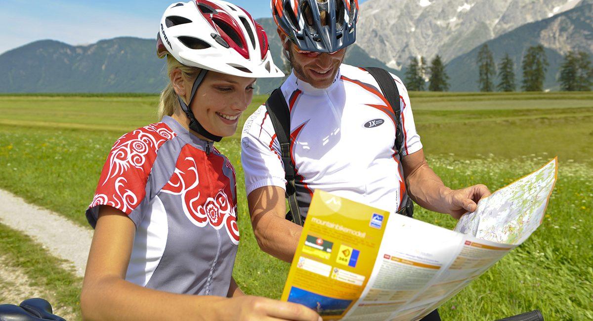Radeln am Sonnenplateau Mieming. Foto: Innsbruck Tourismus