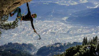 Kletterer - Innsbruck, Nordkette. Foto: Peter Manhartsberger