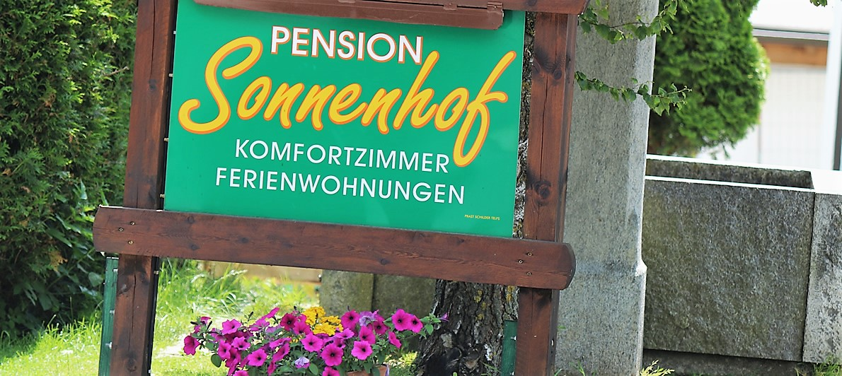 Impressum - Pension Sonnenhof Mieming.tirol