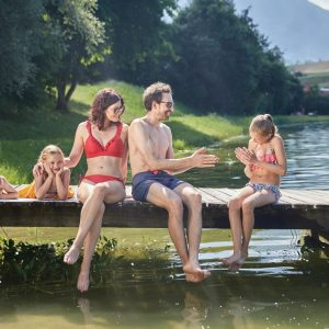 Familienferien am Badesee in Mieming - Foto: Innsbruck Tourismus